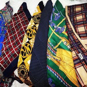 🌺 Designers Pure Silk Scarves